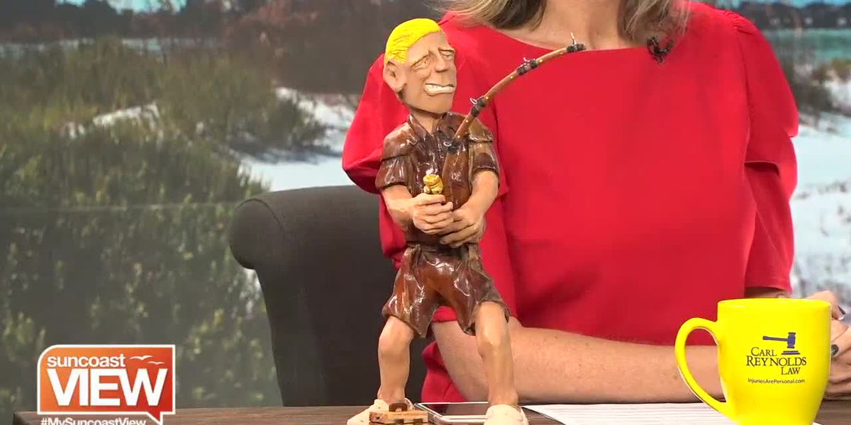 A Self-Taught Wood-Carver Shows His Skills and Artwork   Suncoast View