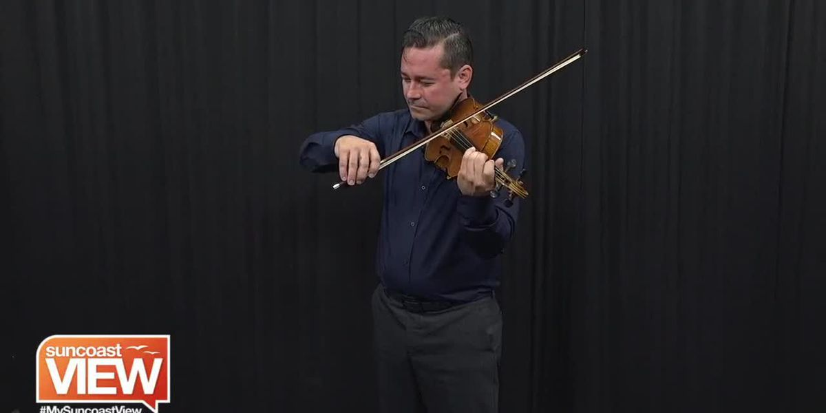 """Marcus Ratzenboeck from Venice Symphony Performs from """"American Roots"""" 