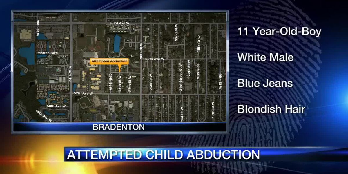 11-year-old boy abducted from his front yard