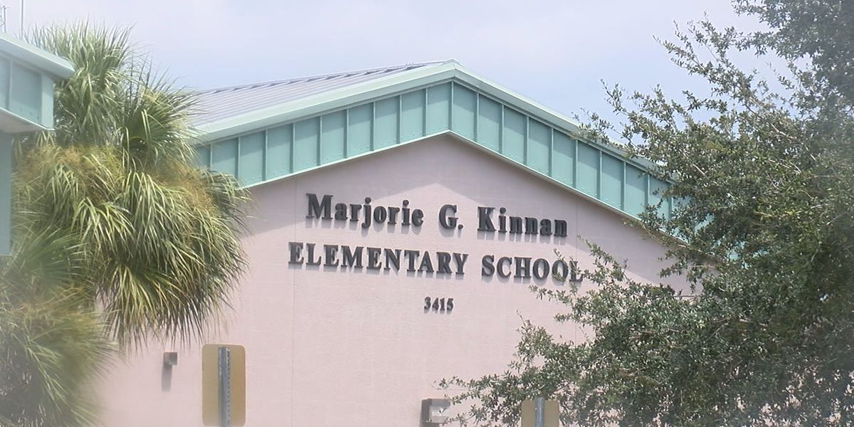 The principal of Kinnan Elementary says he was temporarily suspended for violating COVID-19 procedures