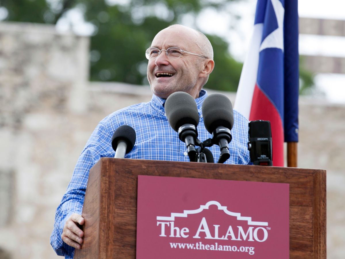 Singer Phil Collins' Alamo artifacts collection on display in Texas