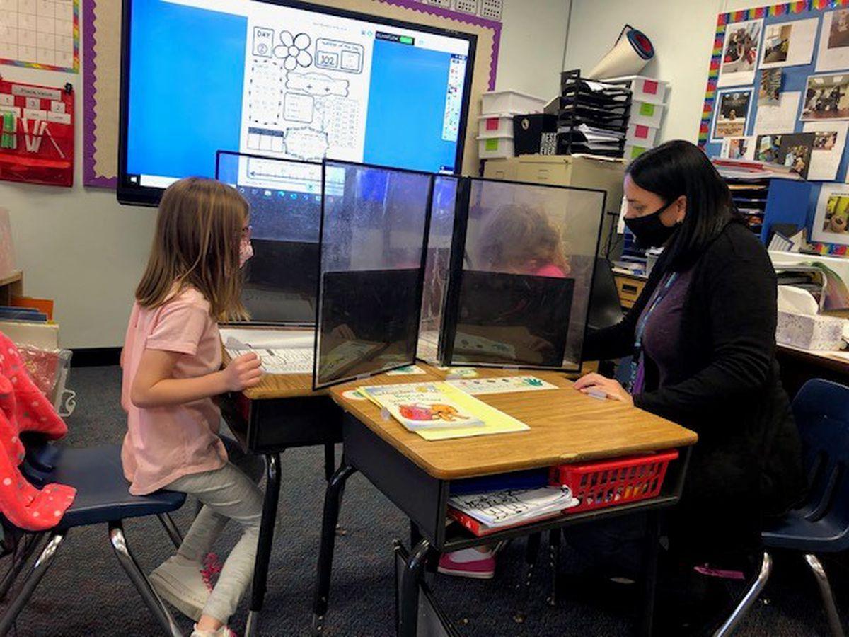 Chalkboard Champion: Teacher making students feel loved despite the pandemic