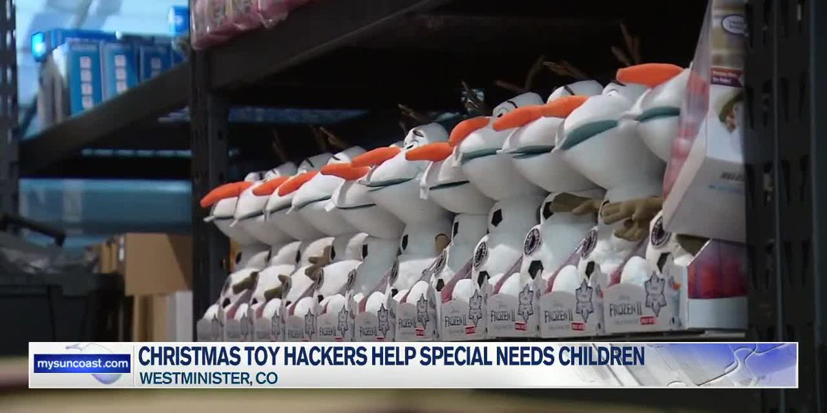 Christmas Toy Hackers Help Special Need Children