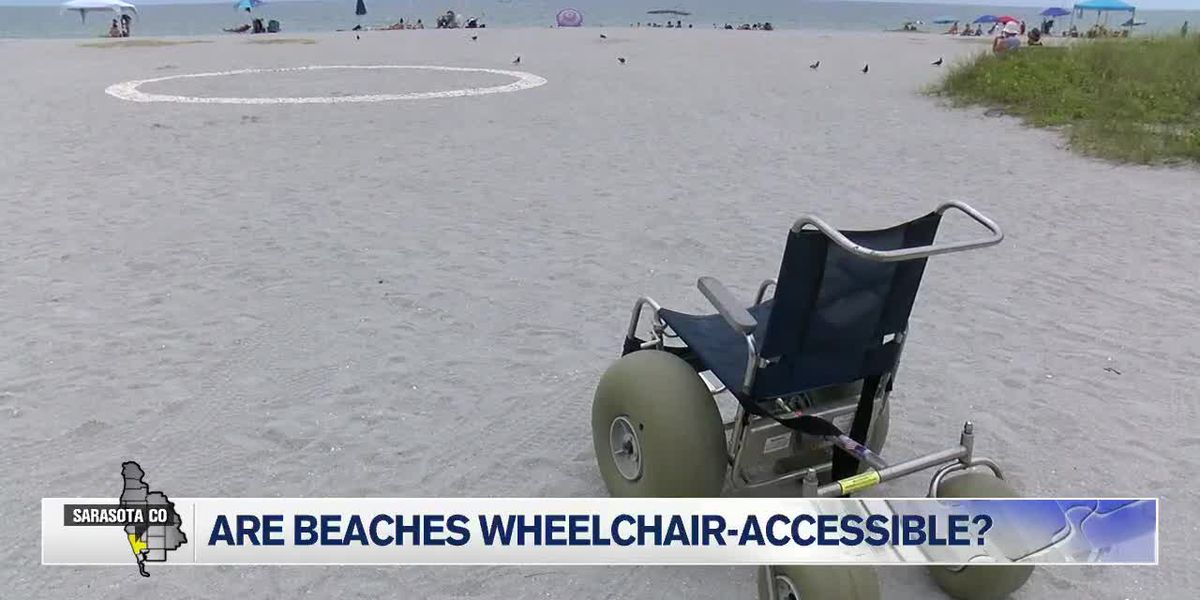 Beaches in Sarasota County are becoming wheelchair accessible