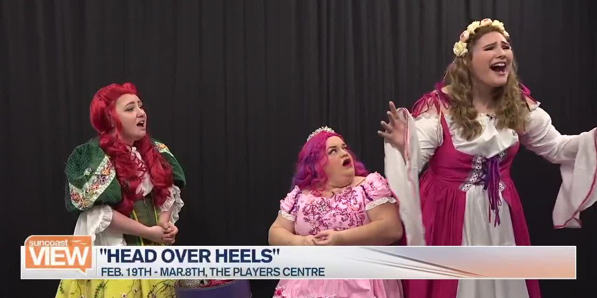 """Here's a Preview of """"Head Over Heels"""" by The Players Centre   Suncoast View"""
