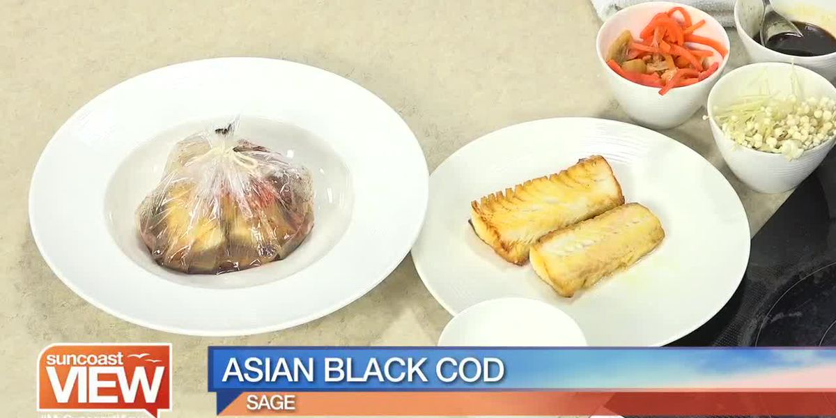 Sage Shows Us How to Make their Asian Black Cod! | Suncoast View