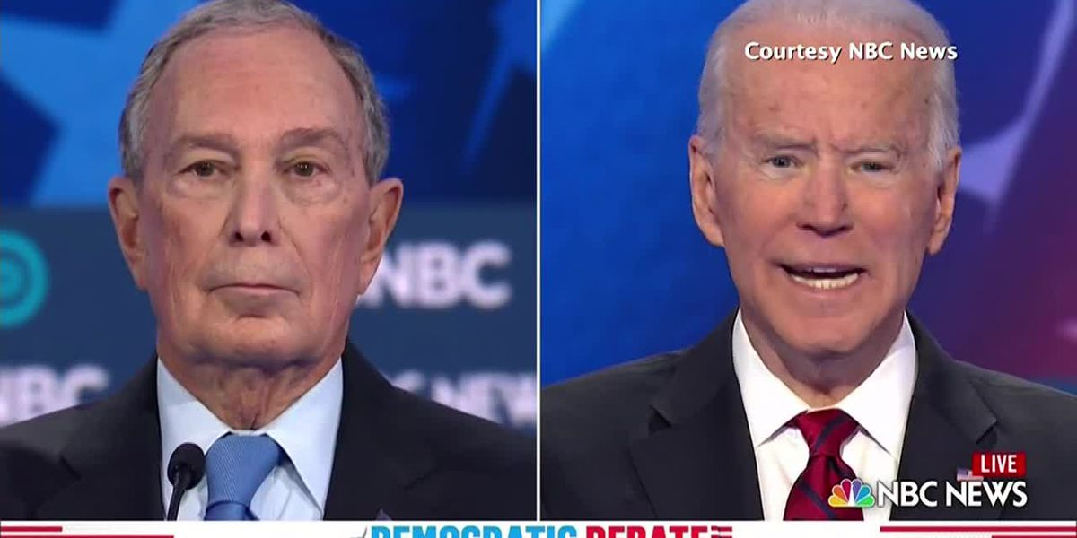 Bloomberg faces fire in his first night on debate stage