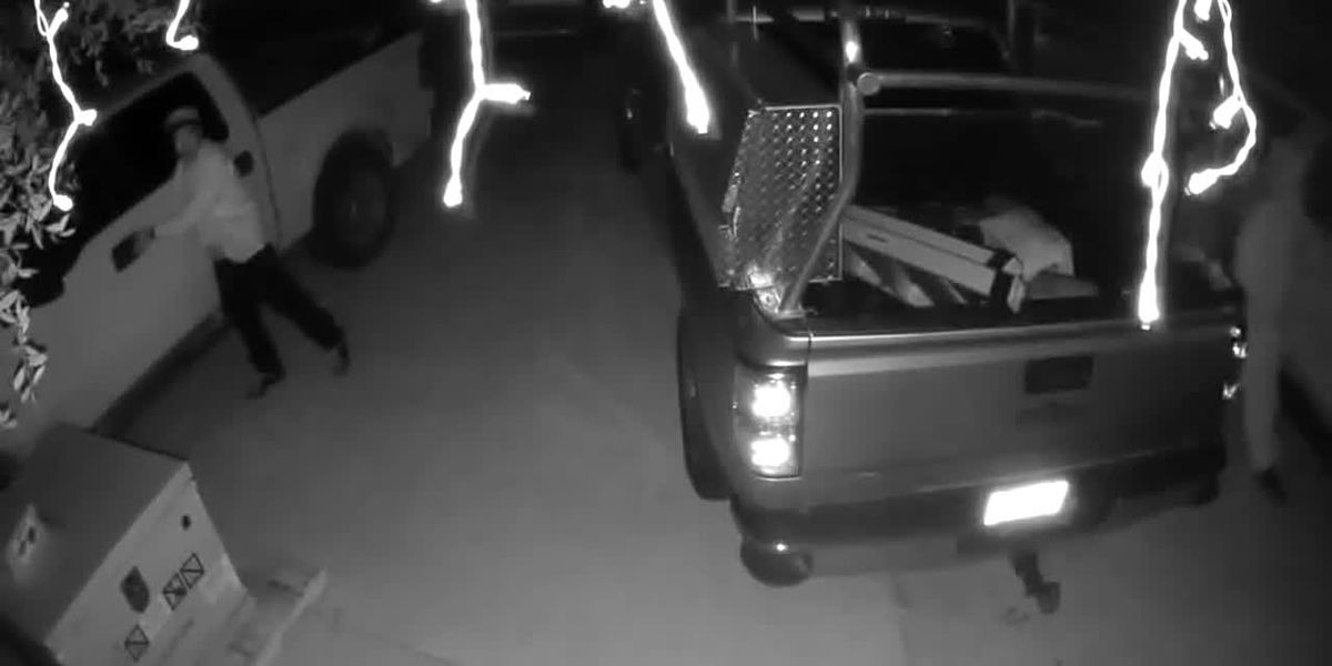 Charlotte County Sheriff's Office is searching for 2 suspects who are wanted for burglary and theft.