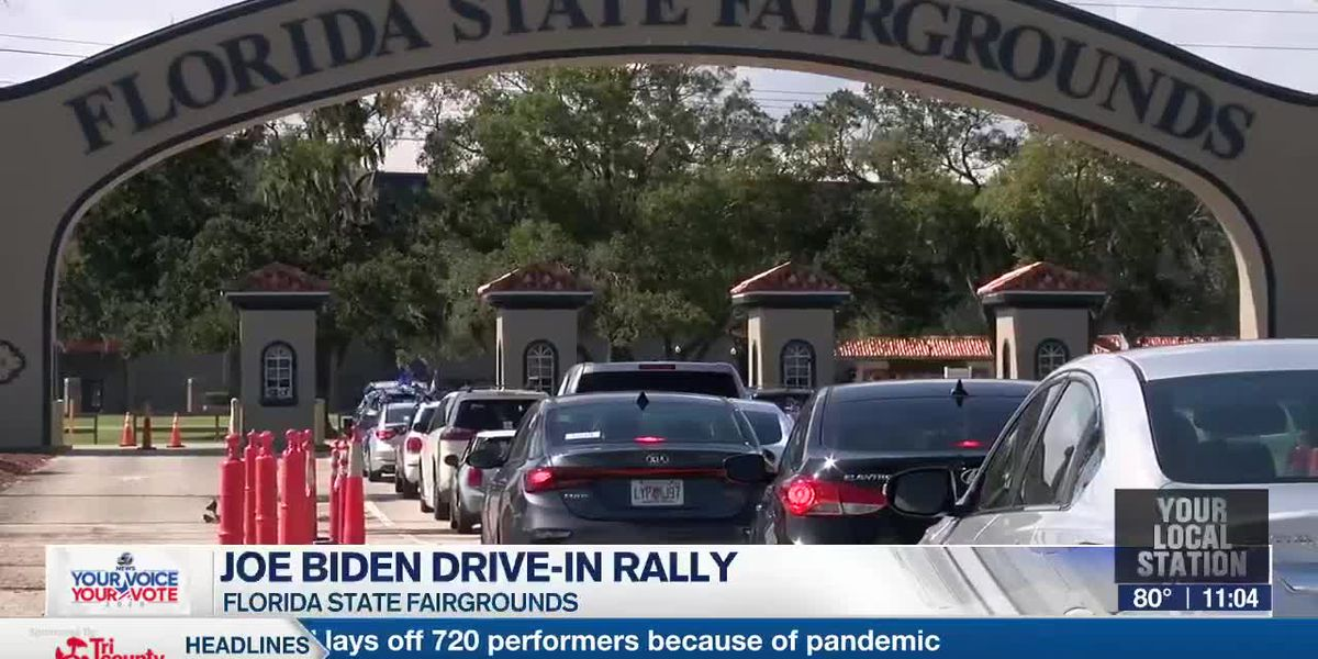 Joe Biden Drive-In Rally