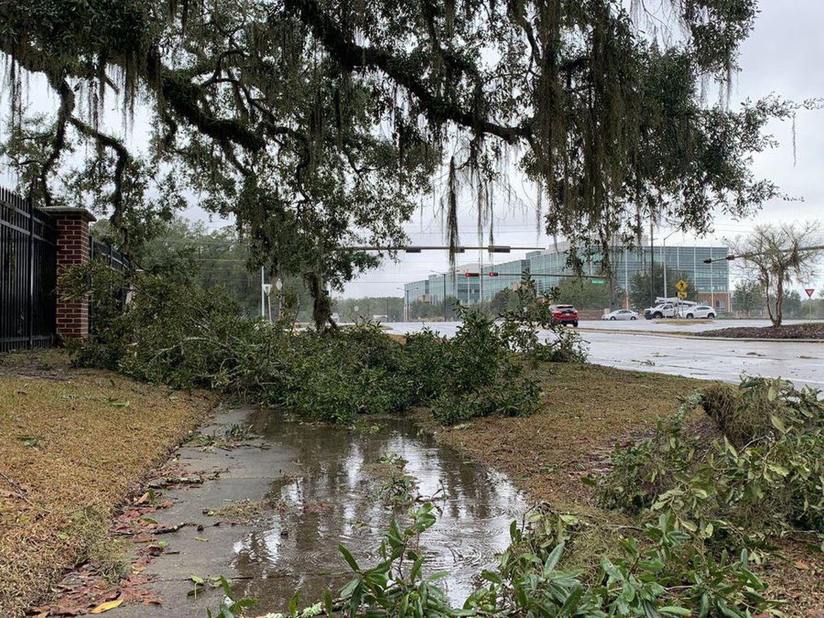NWS confirms tornado near Tallahassee