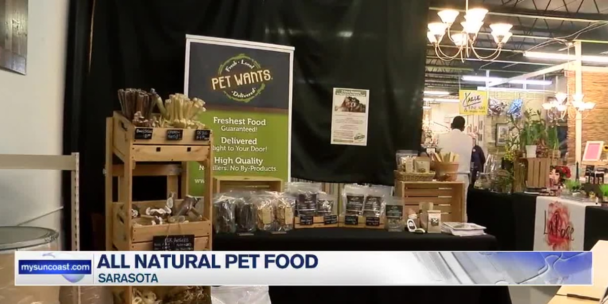 A new healthier alternative pet food has come to Sarasota