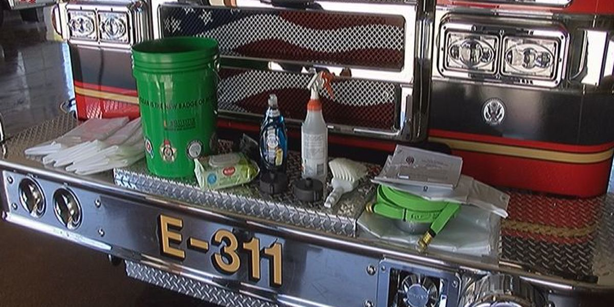 Firefighters Throughout Florida Equipped With Decontamination Kits to Help Prevent Cancer