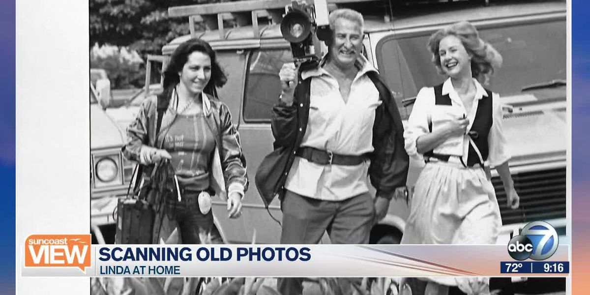 Scanning Photos with Linda Carson | Suncoast View