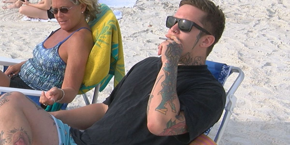 Smoking on the beach could soon be illegal in Florida