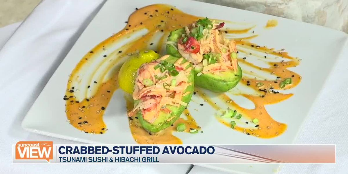 Tsunami Sushi Makes Crab-Stuffed Avocados With Us | Suncoast View