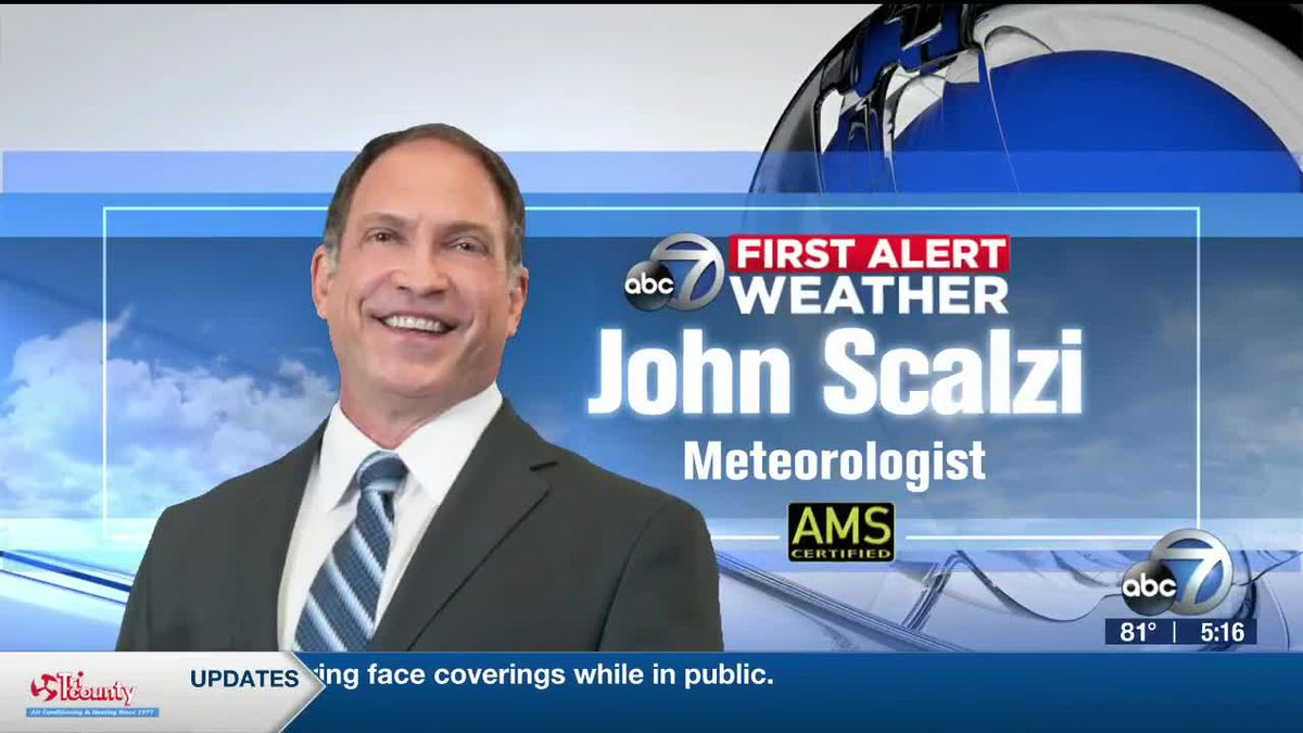 First Alert Weather: Saturday track of Isaias continues to keep the Suncoast free of tropical cyclone impacts