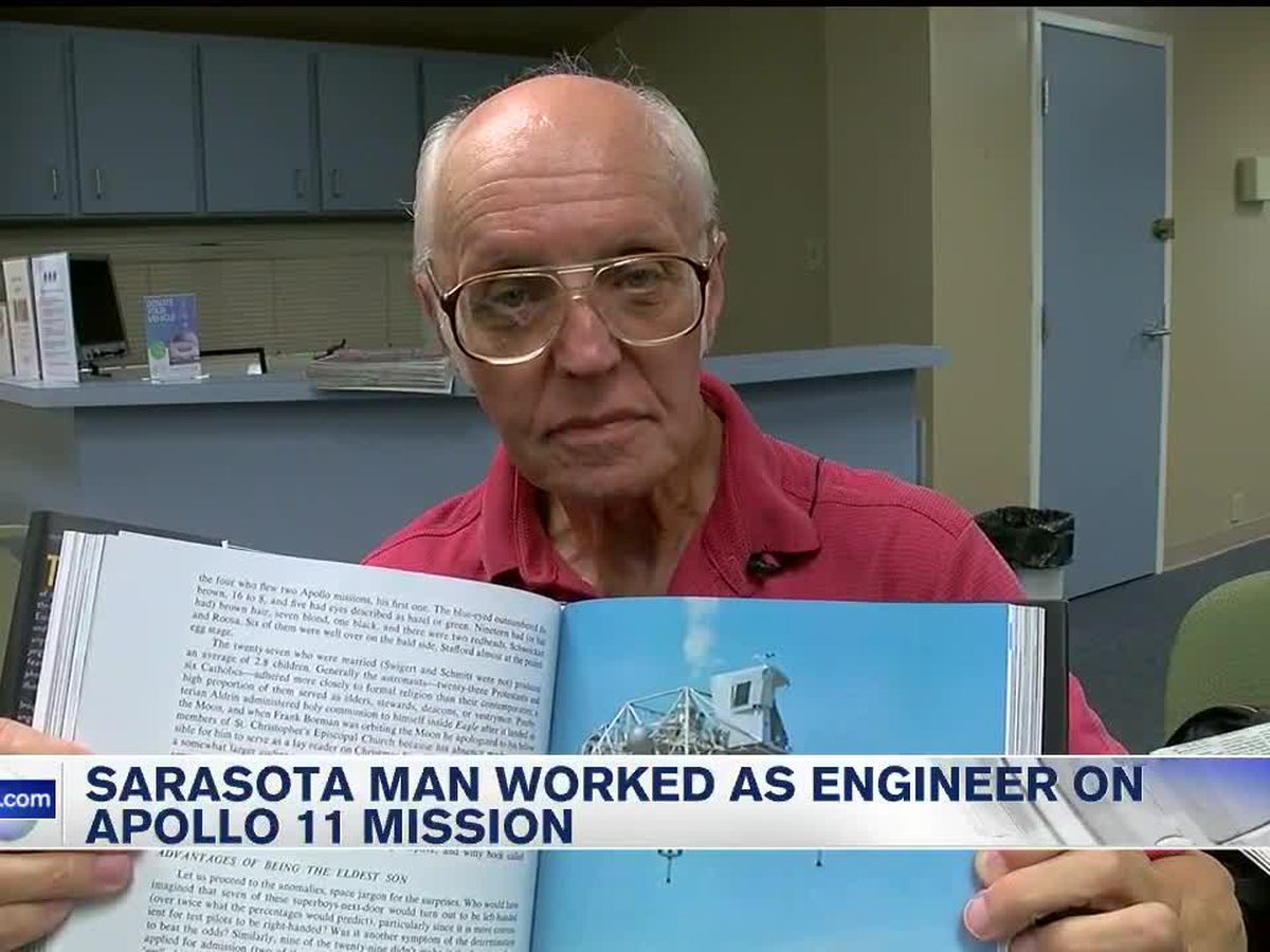 Sarasota man worked as engineer on Apollo 11 Mission
