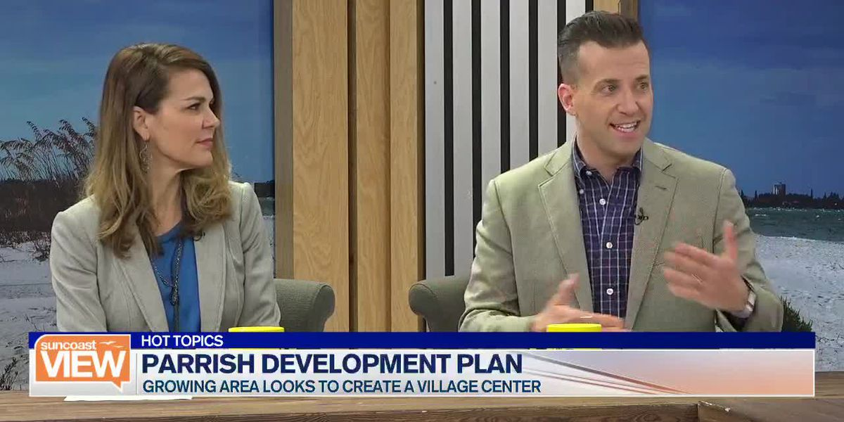 Parrish Looks to Create Community, Plus Should You Do Your Makeup in Public?! | Suncoast View