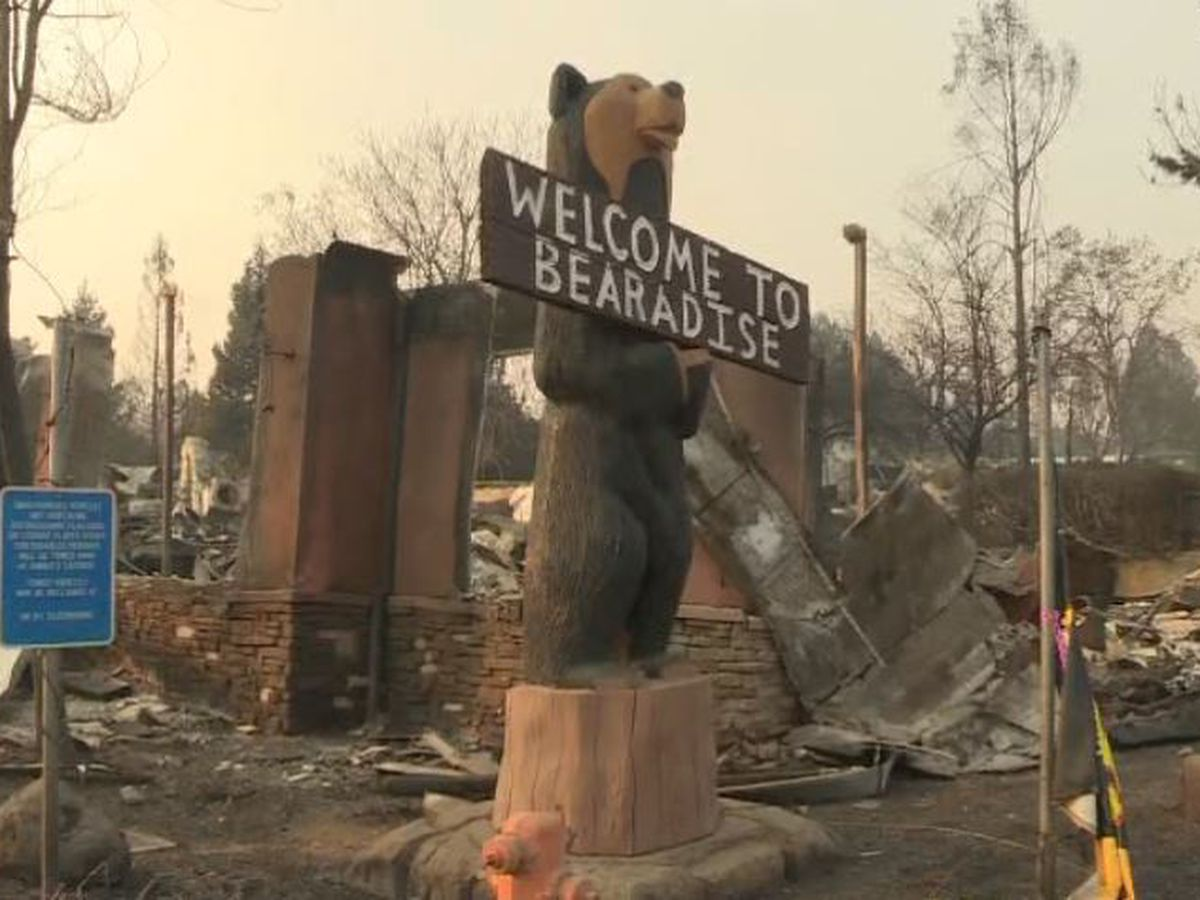 Rain could hinder search for victims of California wildfire