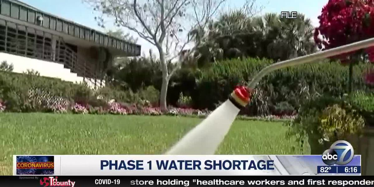 Southwest Florida currently in phase one of a water shortage