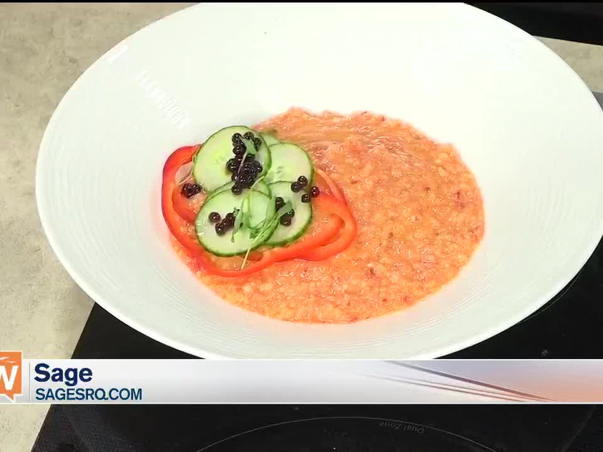 Recipe for Tomato Gazpacho from SAGE | Suncoast View
