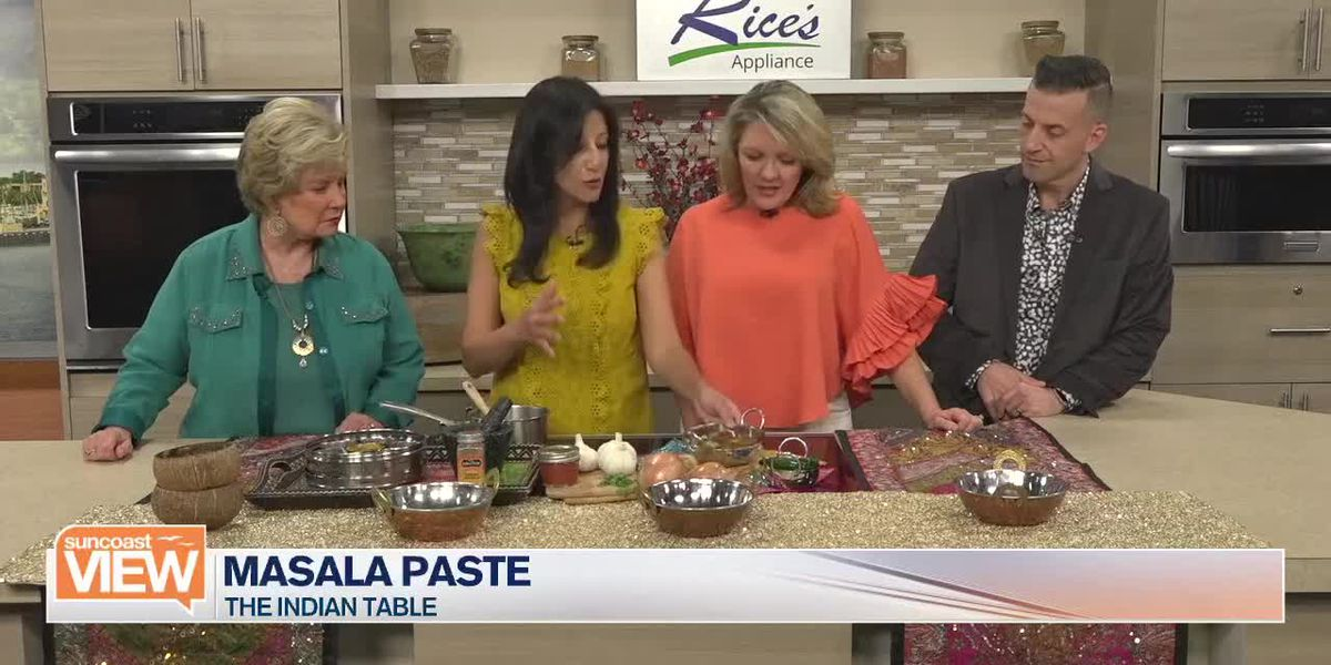 Basic Masala Paste with Deepa From The Indian Table | Suncoast View