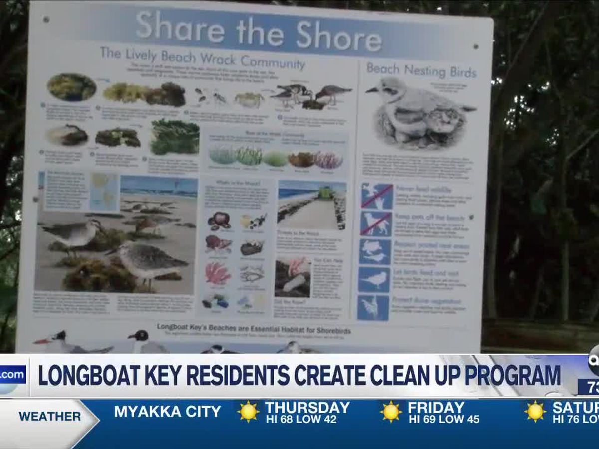New Beach Clean Up Program Comes To Longboat Key