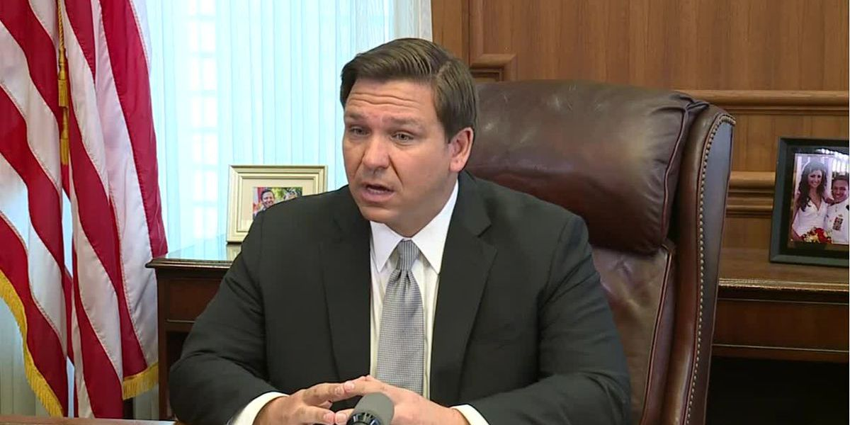DeSantis says he will 'go slow' on reopening