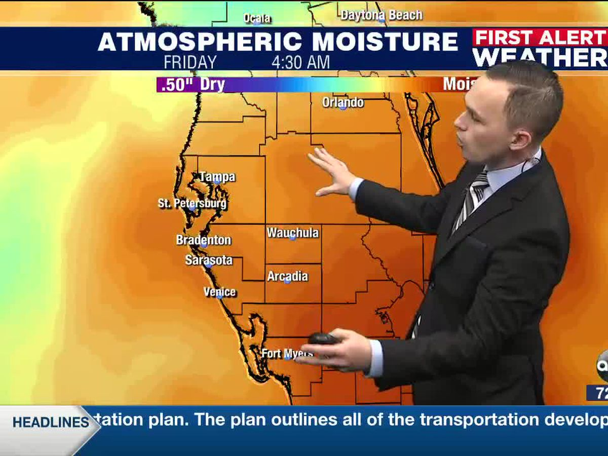 First Alert Weather: Thursday, September 24, 2020 - Rain chances are back today and will increase to end the workweek