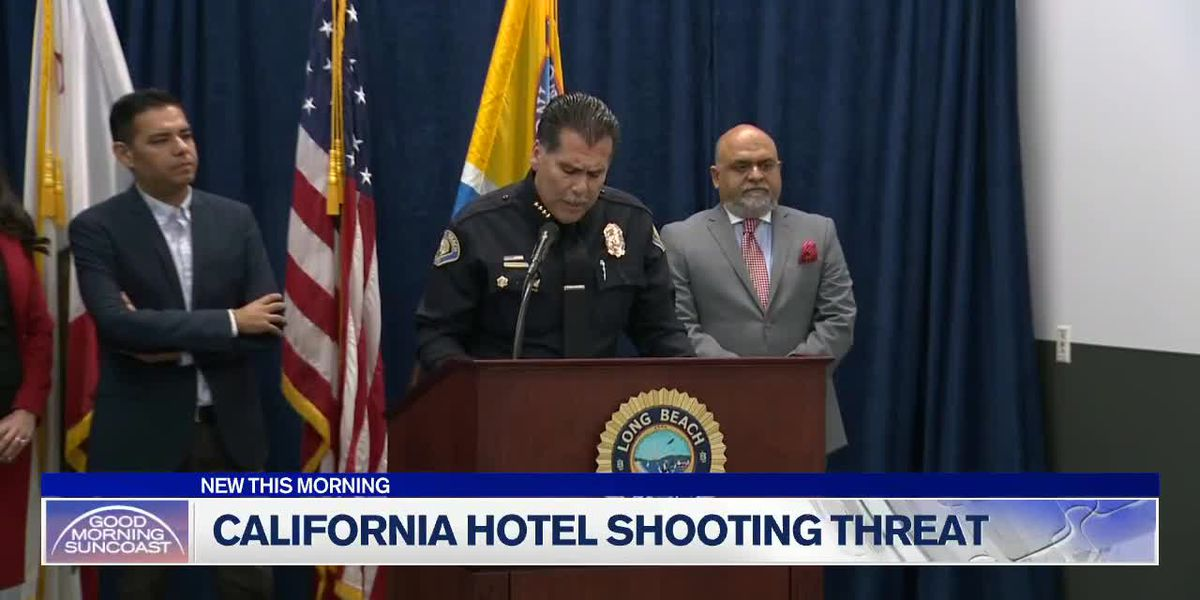 California hotel shooting threat uncovered
