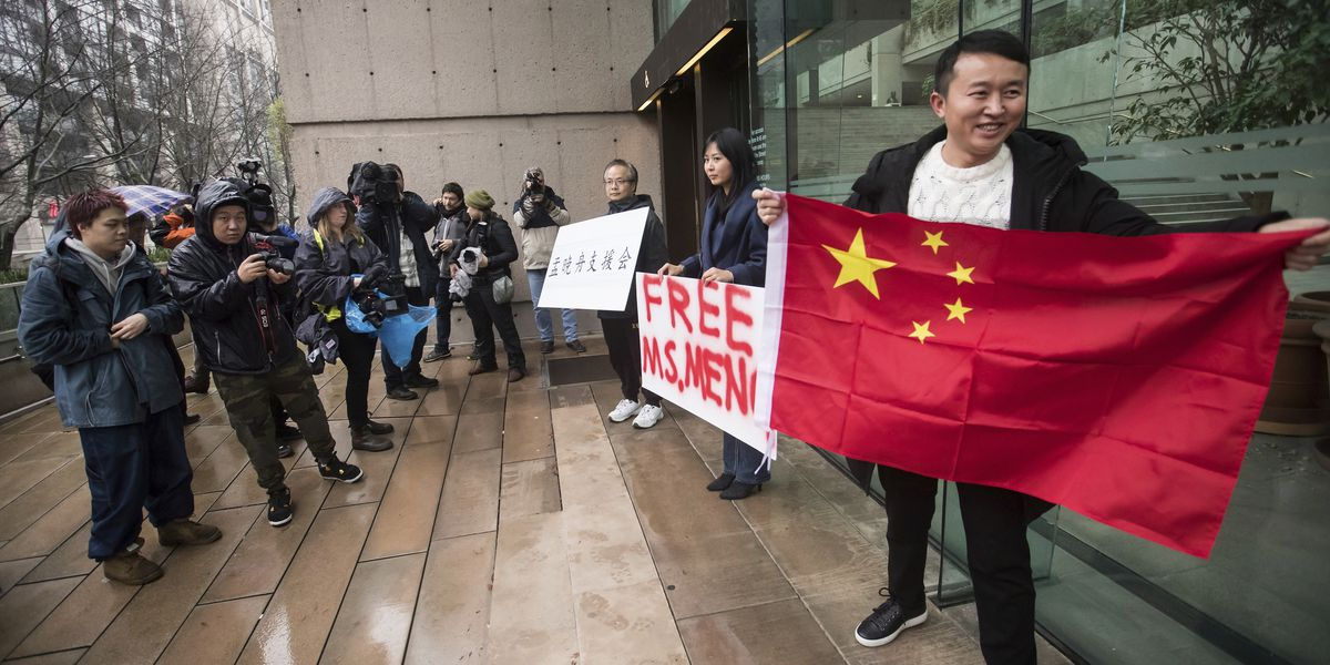 Huawei CFO gets bail; China detains ex-Canadian diplomat