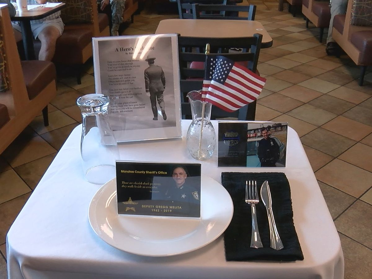 Local Chick Fil A honors deputy who lost battle to cancer
