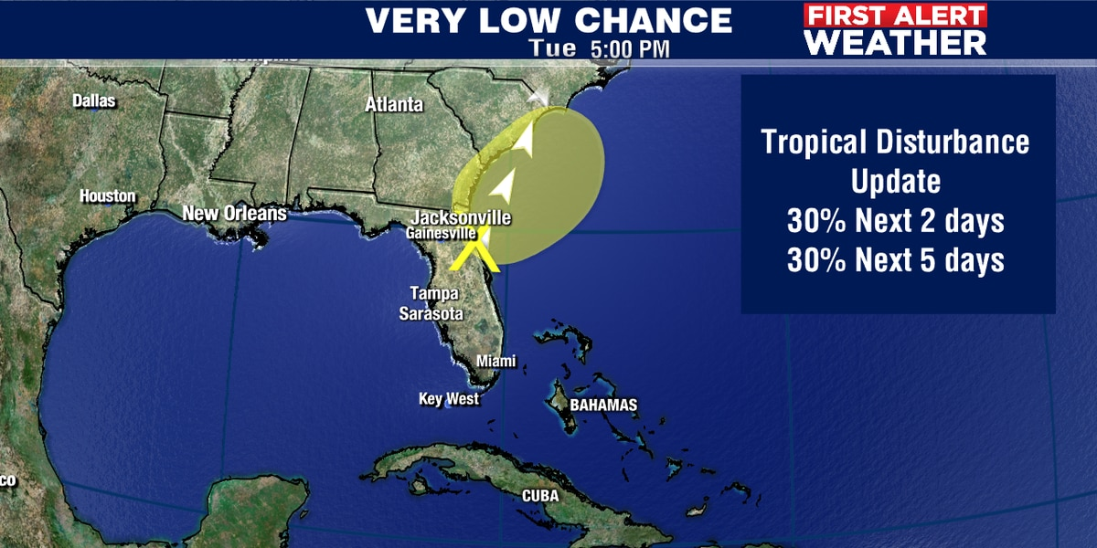 Another early tropical system developing?
