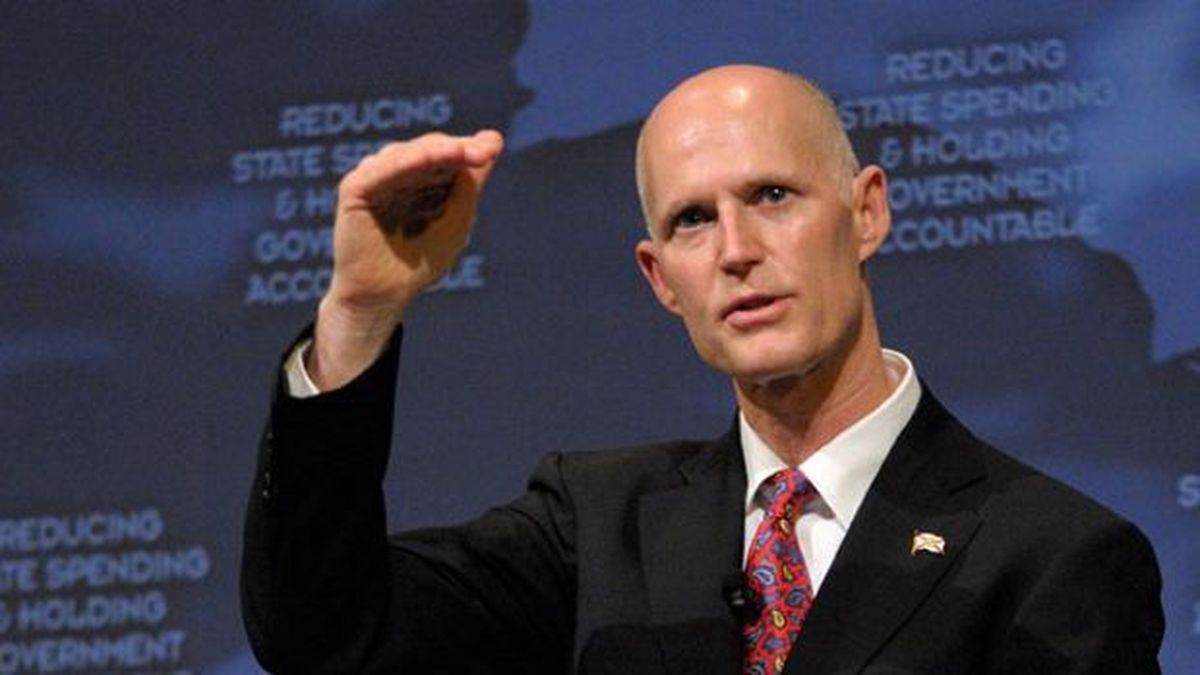 The Latest: Gov. Scott to step down from elections board
