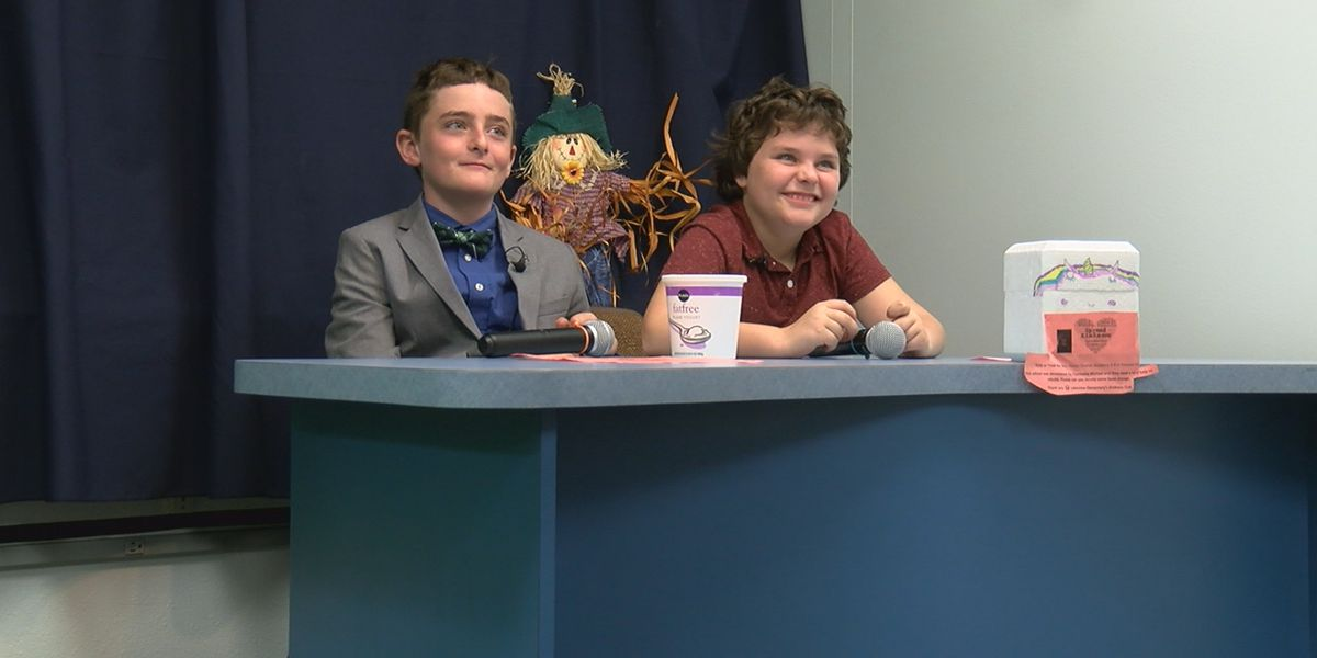 Two Lakeview Elementary brothers spark Halloween effort to help victims of Hurricane Michael