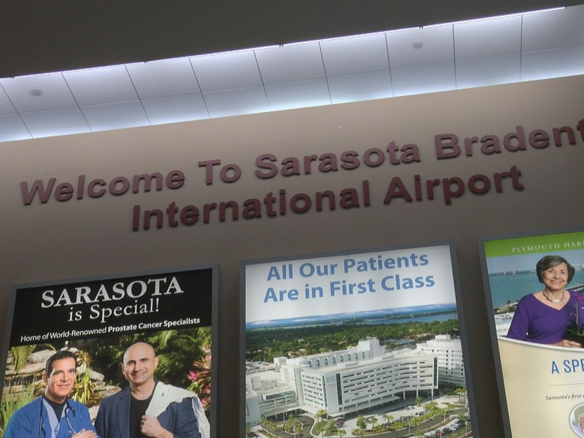 Sarasota Bradenton International Airport sees increasing numbers despite COVID-19