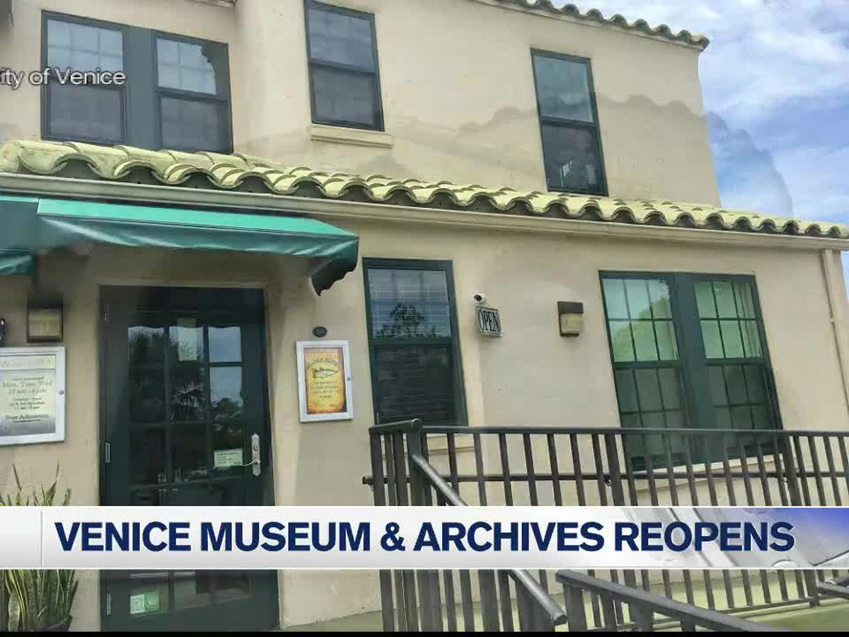 GOOD NEWS: Venice Museum and Archives reopen