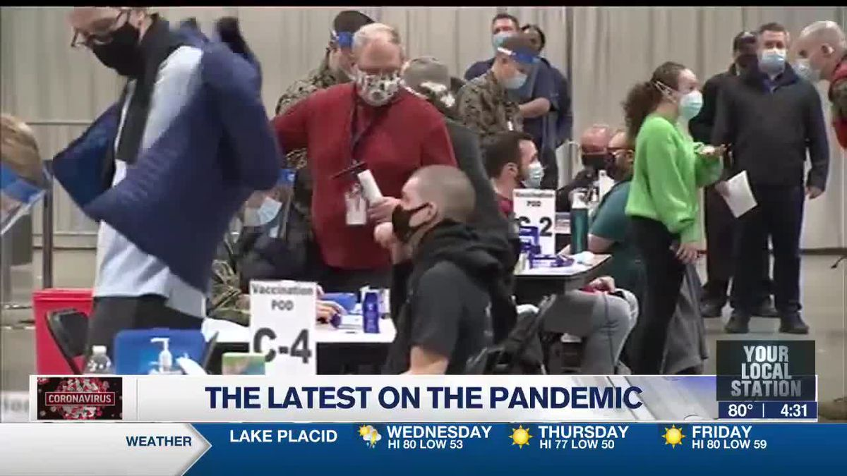 The latest on the pandemic