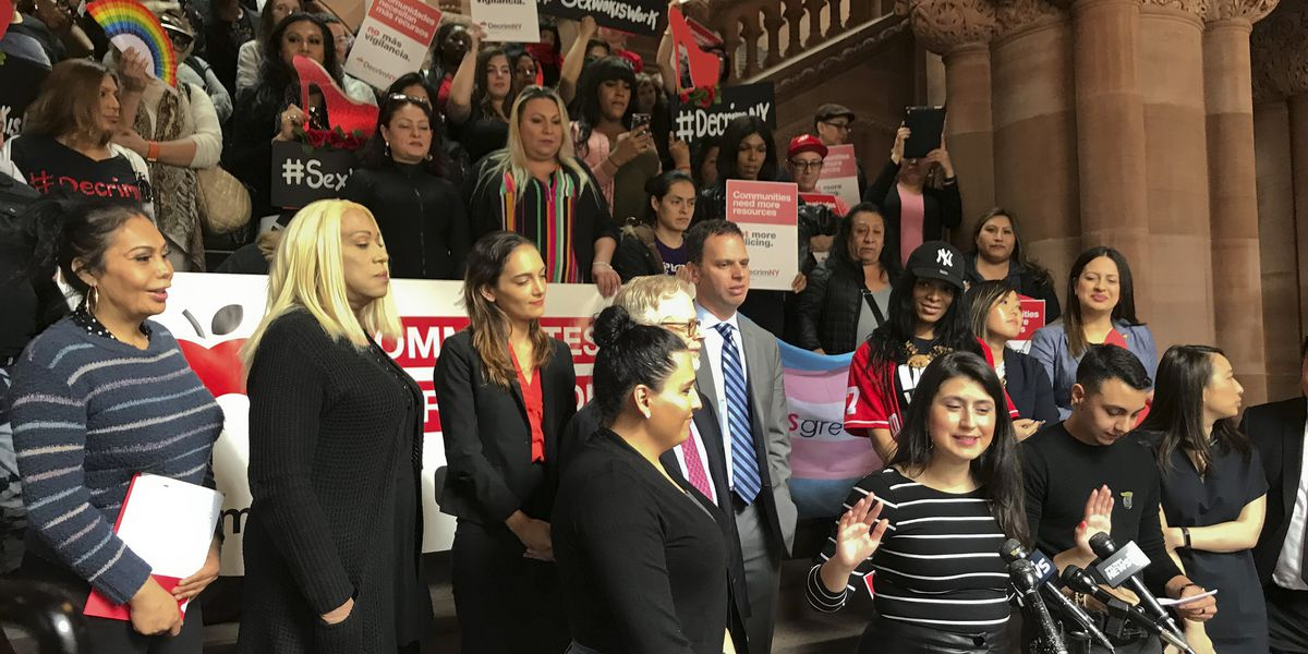 Sex workers push to legalize prostitution in New York