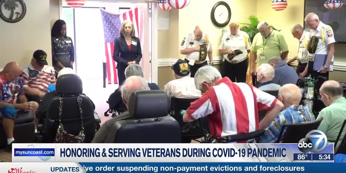 Tidewell Hospice continues to honor and serve veterans during Covid-19 pandemic