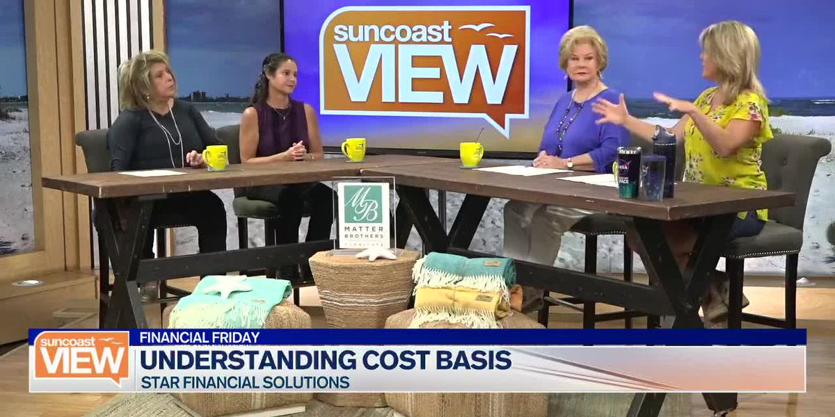 Esther Halt of Star Financial Solutions Breaks Down Cost Basis for Us | Suncoast View
