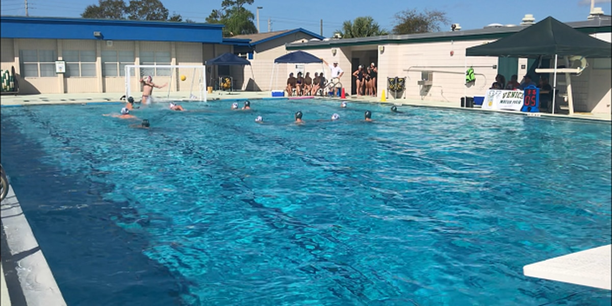 Venice High School hosts water polo match