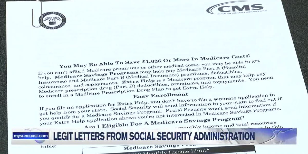 Social Security Letters