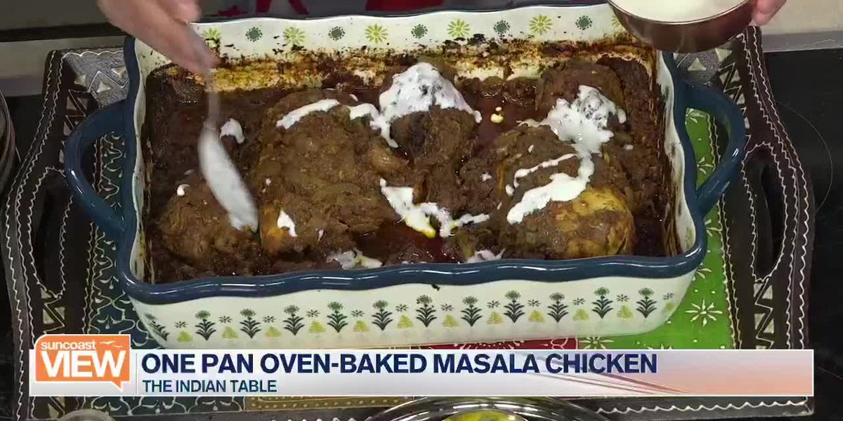 Deepa from The Indian Table Cooks Up a One Pan Oven-Baked Masala Chicken   Suncoast View