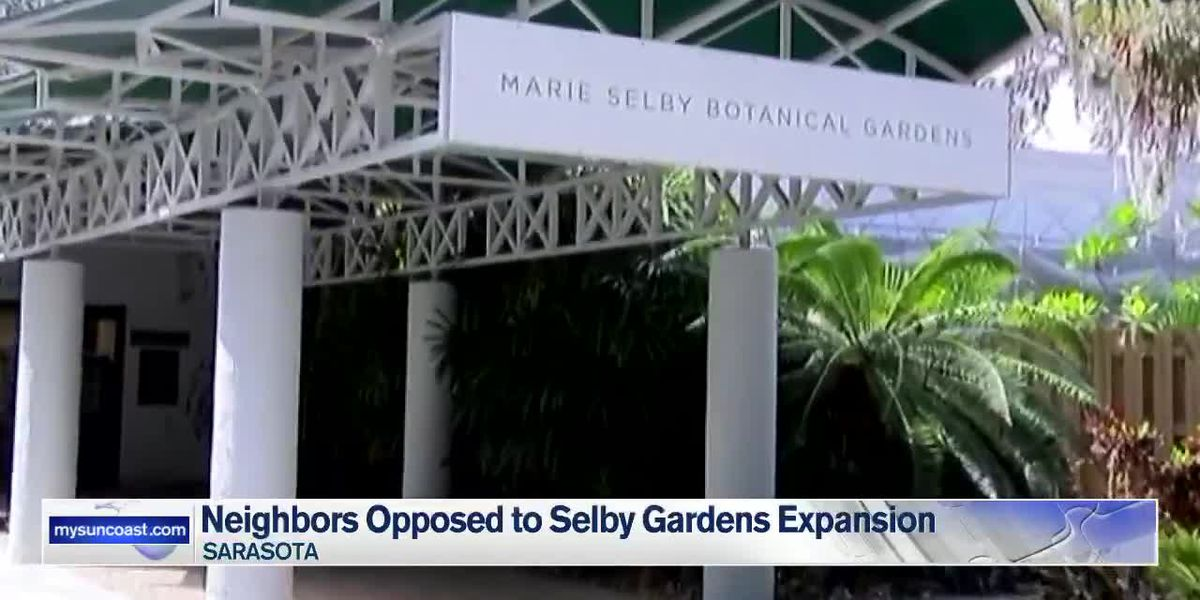 Neighbors opposed to Selby Gardens expansion