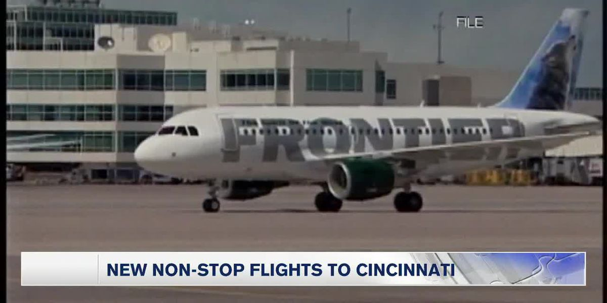 Frontier Announces New SRQ - Cincinnati Flights