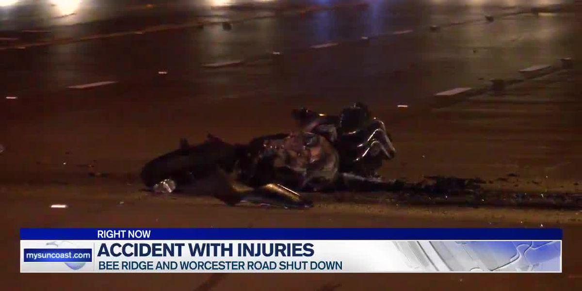 19-year-old motorcyclist killed in crash on Bee Ridge in Sarasota