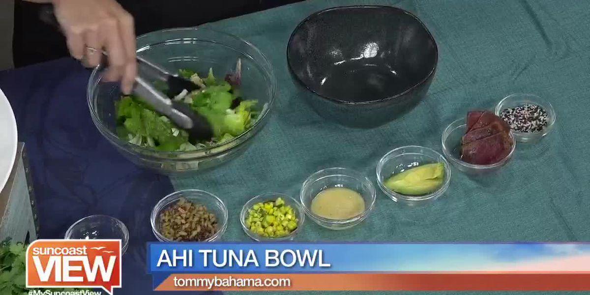 Ahi Tuna Bowls from Tommy Bahama   Suncoast View