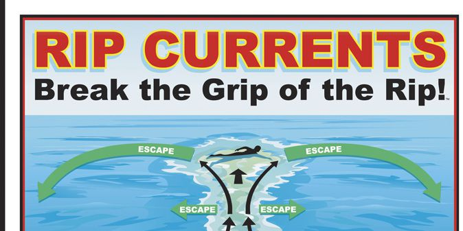 How to spot a rip current and what do to if you find yourself in one