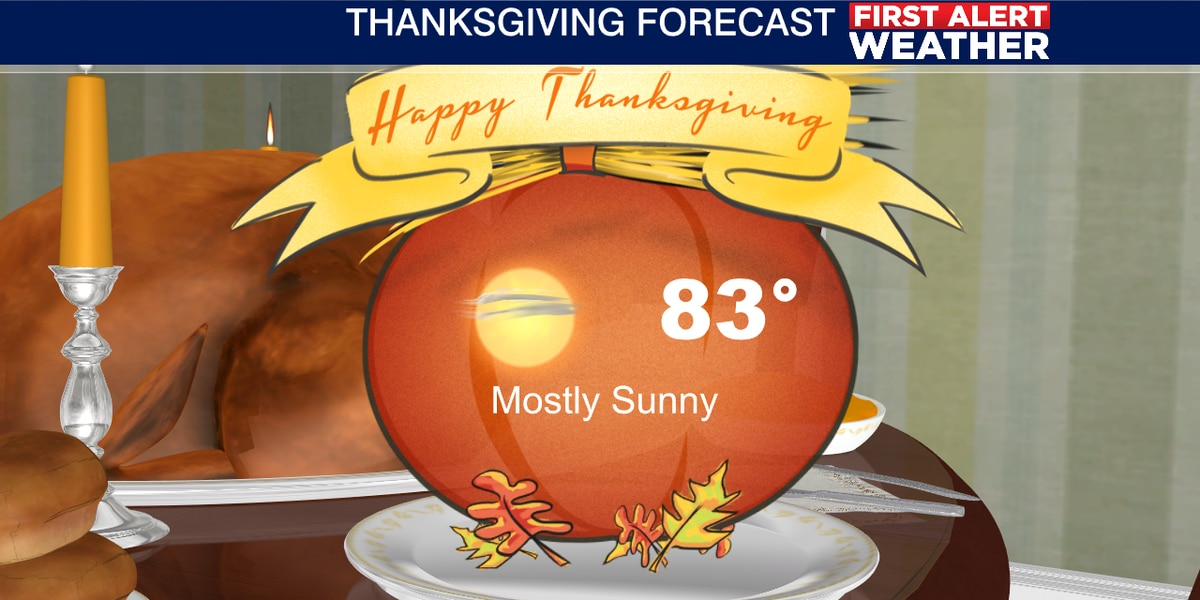 Warm Thanksgiving on the Suncoast!
